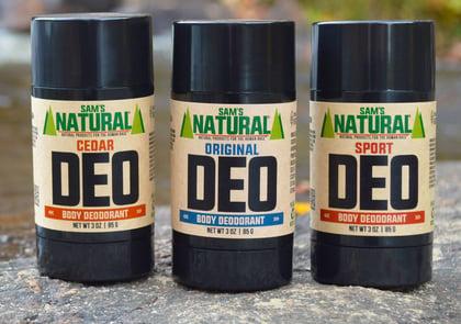 Sams Natural Deodorant